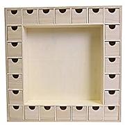 Artemio 14001541 calendrier de l'avent en bois,...