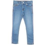 Pantalon en jean tommy hilfiger fille. bleu. 4...