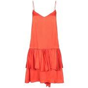 Robe courte stella mccartney femme. orange. 34...