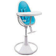 Chaise haute fresco chrome white/bermuda blue...
