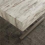 Table basse relevable couleur wengé alfonso