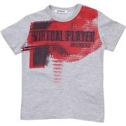 T-shirt bikkembergs garçon. gris. 24 livraison...
