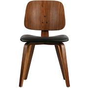 Classic - chaise en bois et simili