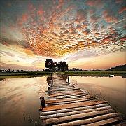 Pro-art-bilderpalette gla977a colourful view...
