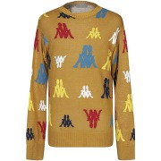 Pullover paura x kappa homme. ocre. xs...