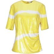 T-shirt msgm femme. jaune. 38 livraison...