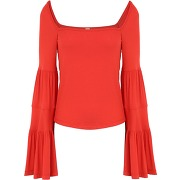 Babetown top pullover free people femme. rouge....
