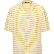 T-shirt the gigi homme. jaune. l livraison...