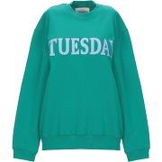 Sweat-shirt alberta ferretti femme. vert. xs...