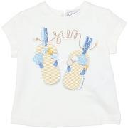 T-shirt monnalisa fille. blanc. 3 livraison...