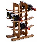 Zeller 13580 range-bouteilles bambou, 29 x 16 x...