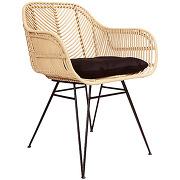 Nunuhai - fauteuil de table en rotin