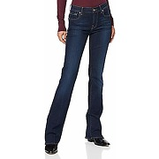 7 for all mankind bootcut, jeans femme, bleu...