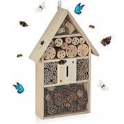 Relaxdays hôtel à insectes, nid pour abeilles...
