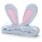Bandeau de maquillage avec oreilles de lapin,...