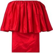 Robe courte marques' almeida femme. rouge. xs...