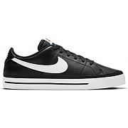 Chaussures nike court vision low noir blanc 45