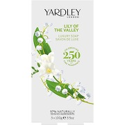 Yardley lily of the valley savons 3 x 100gr