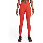 Collant long femme nike dri fit one rouge m