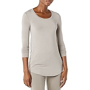 Daily ritual jersey long-sleeve scoop-neck...