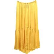 Jupe longue forte_forte femme. jaune. 0...