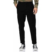 Lee tapered chino corduroy, noir, 31/32 homme