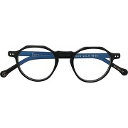 Lesca lunettes de vue icon à monture ronde - noir