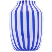 Hay vase juice à rayures - bleu