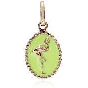 Gigi clozeau pendentif camée - green