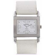 Hermès montre barenia pre-owned (années 1990) -...