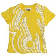 T-shirt bikkembergs garçon. jaune. 12 - 18 - 24...
