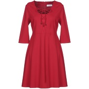 Robe courte clips more femme. rouge. 38...