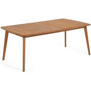 Hanzel - table à manger de jardin extensible en...