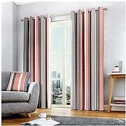 Fusion whitworth stripe paire de rideaux à...
