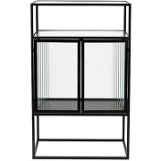 Boli - vitrine 2 portes en métal et verre...