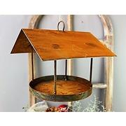 Back2season mangeoire à oiseaux en métal à...