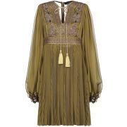 Robe courte dsquared2 femme. vert militaire. 34...