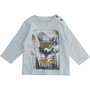 T-shirt timberland garçon. gris clair. 9...