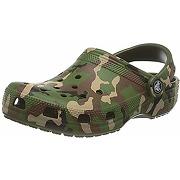 Crocs mixte classic printed camo clog, army...