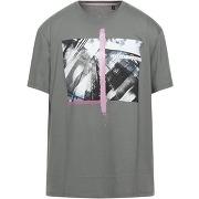 T-shirt armani exchange homme. gris clair. xs...