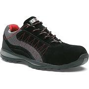 Chaussure basse zephir s1p cuir croûte velours...