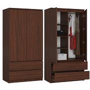 Blanca - armoire contemporaine chambre dressing...