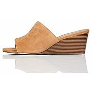 Marque amazon - find. mule wedge leather...