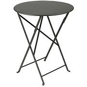 Table de jardin pliable bistro romarin Ø60 cm