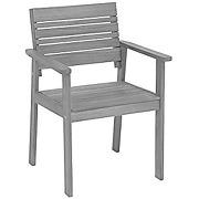 Greemotion chaise de jardin maui en bois en...