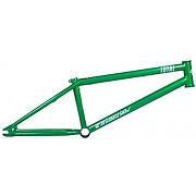 Cadre bmx freestyle total tws 2 matallic green 21