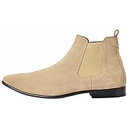 Find. albany bottes chelsea - homme - beige...