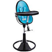 Chaise haute fresco chrome black/bermuda blue...