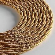 Klartext belle Époque câble textile tressé pour...