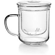 Ibili 624500 tasse à thé avec filtre, verre,...